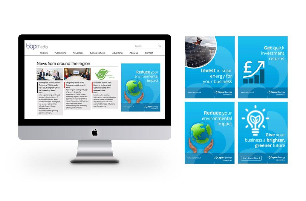 Digital banner design